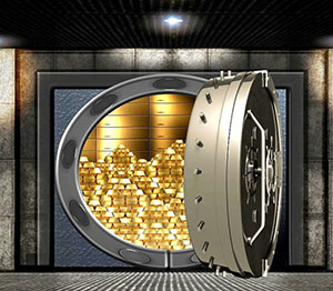 Customized Vault, Custom Vaults, Secure Gold, Gold Security.