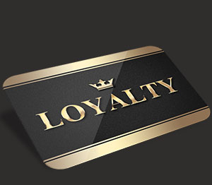 Gold Privilege Cards, Loyalty Privilege Crads